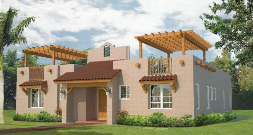 Southwest Style House Plans Southwestern Home Eplans