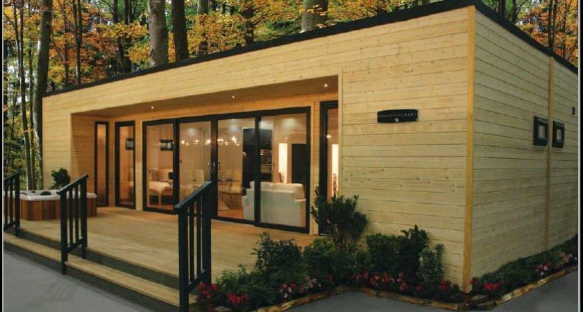 Spotlight Best Selling Finnish Contemporary Log Mobile Home