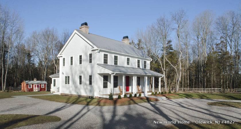 Sqft Modular Farmhouse Designed New World Home
