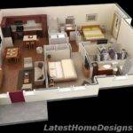 Square Feet Three Bedrooms All Ground Level