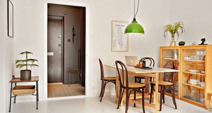 Square Foot Apartment Design Open Plan Living Dinning Room