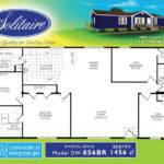 Square Foot Double Wide Floorplan Families Solitaire Homes Blog
