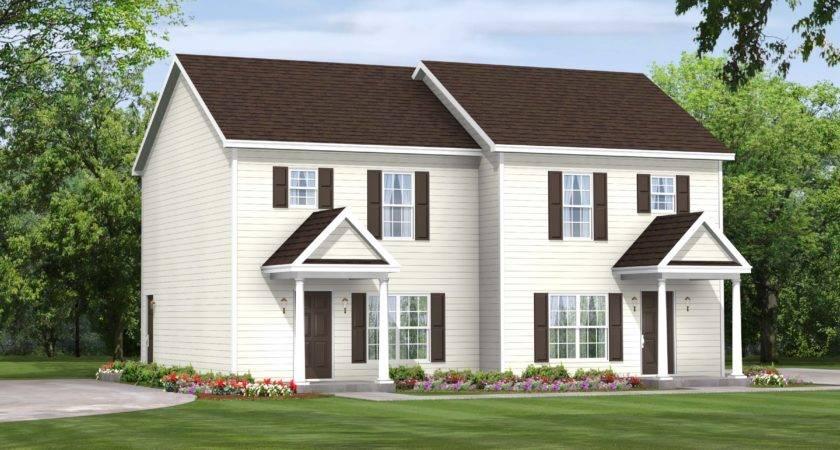 Stafford Duplex Townhouse Modular Home Homes