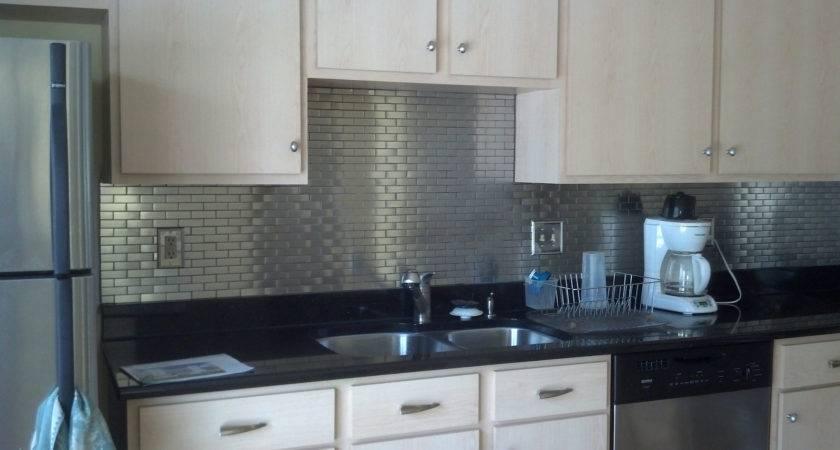 Stainless Steel Subway Tile Kitchen Backsplash Outlet