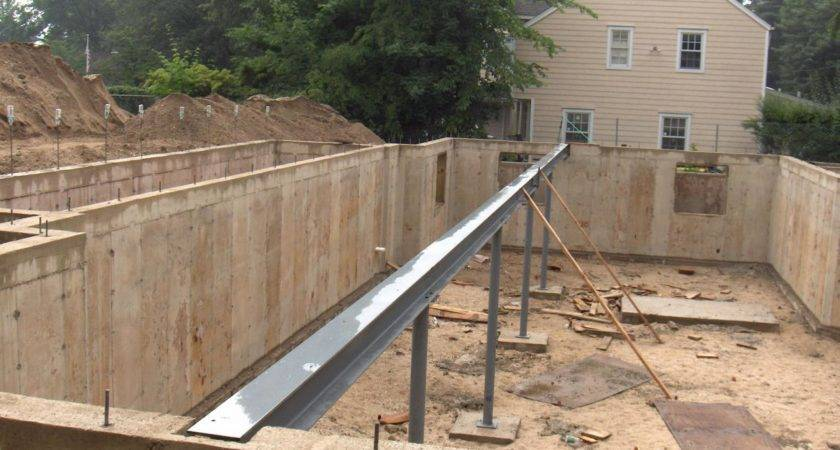 Steel Beam Foundation