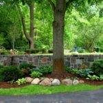 Stone Garden Walls Reflections Wandsnider Landscape Architects
