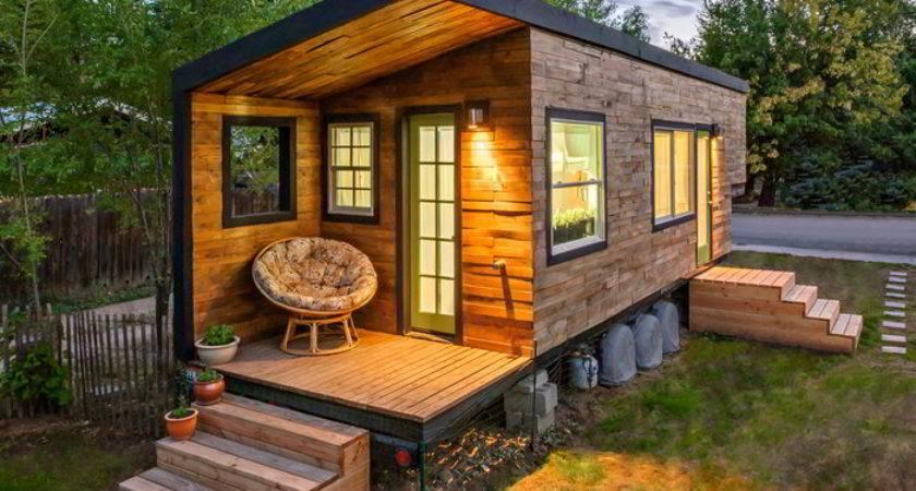 Stunning Tiny House Built Gooseneck Flatbed Trailer