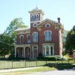 Style Italianate Architecture Silas Clark House Indiana