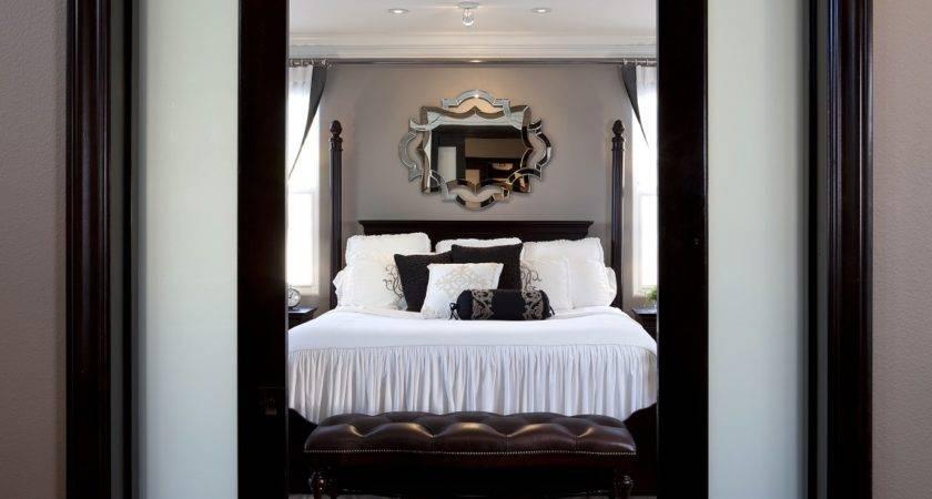 Stylish Transitional Master Bedroom Robeson Design San