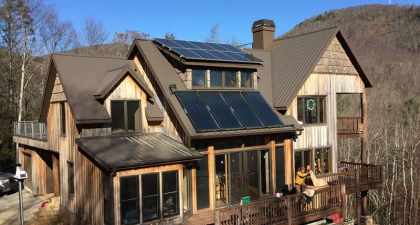 Super Efficient Zero Solar Home Hickory Nut Forest