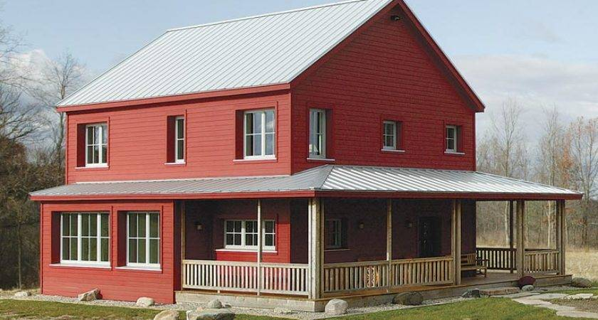 Super Energy Efficient Prefab Rural Farmhouse Plans