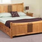 Sweet Dreams Curlew Oak King Bed