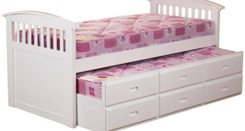 Sweet Dreams Ruby White Captains Bed