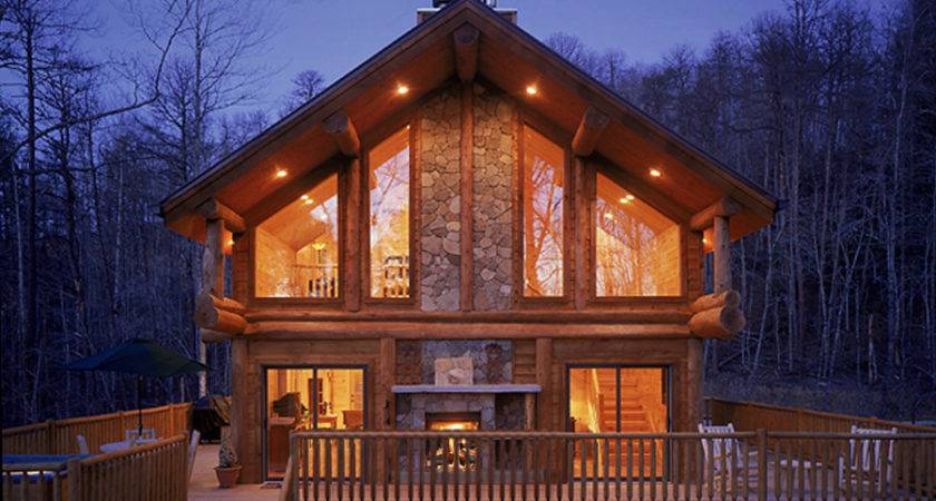 Teton Log Home Design Bedrooms Baths Within