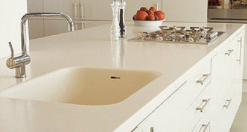There Corian Countertops Sink Built Like All One