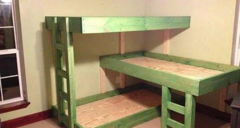 Tier Bunk Beds Kids Bedrooms Idea Twin