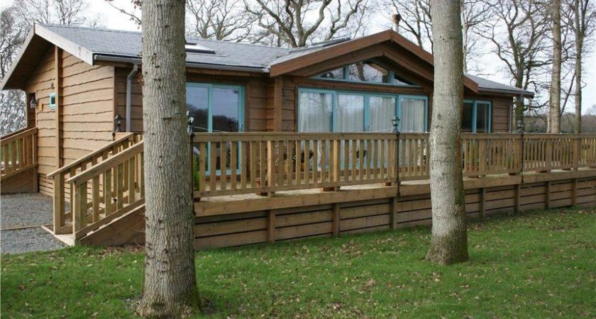 Tingdene Hunting Lodge Park Home Holiday Log Cabin