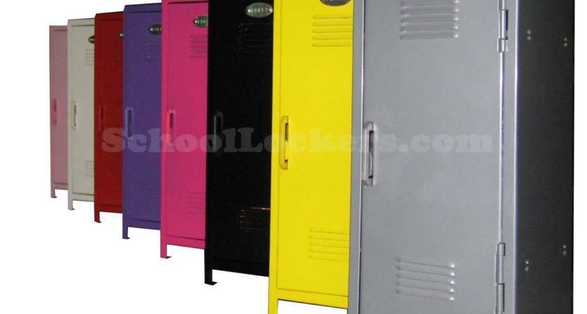 Tiny Metal Lockers Kids Schoollockers
