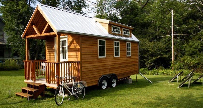 Tiny Prefab Home Wheels Unique Shapes Homes