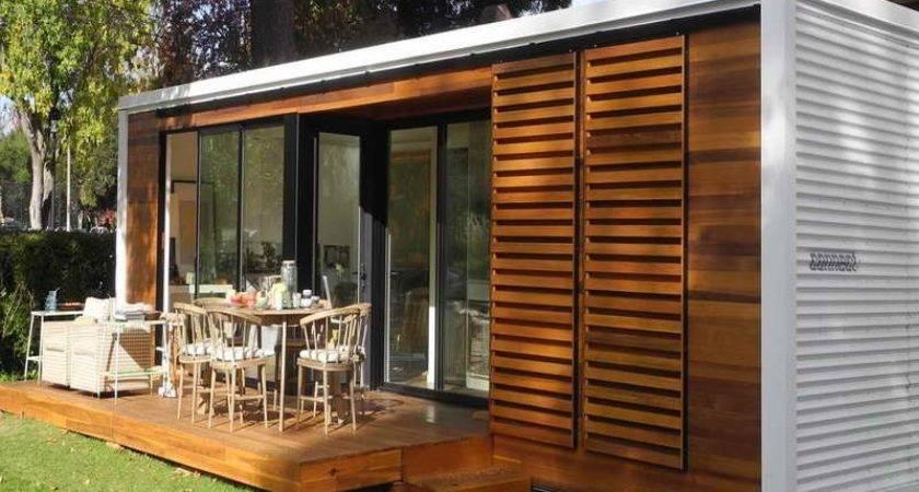Tiny Prefab House Kits Small Homes Deck