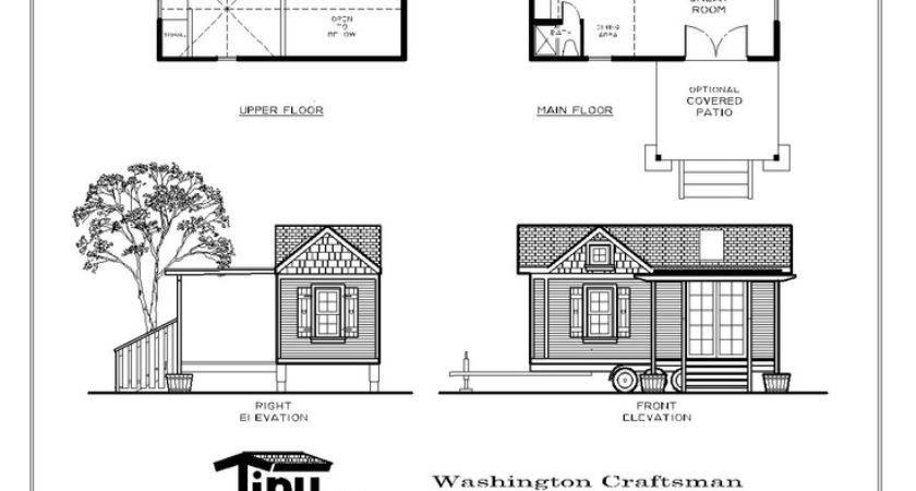 Tiny Smart House Company Favorite Home Floor Plan