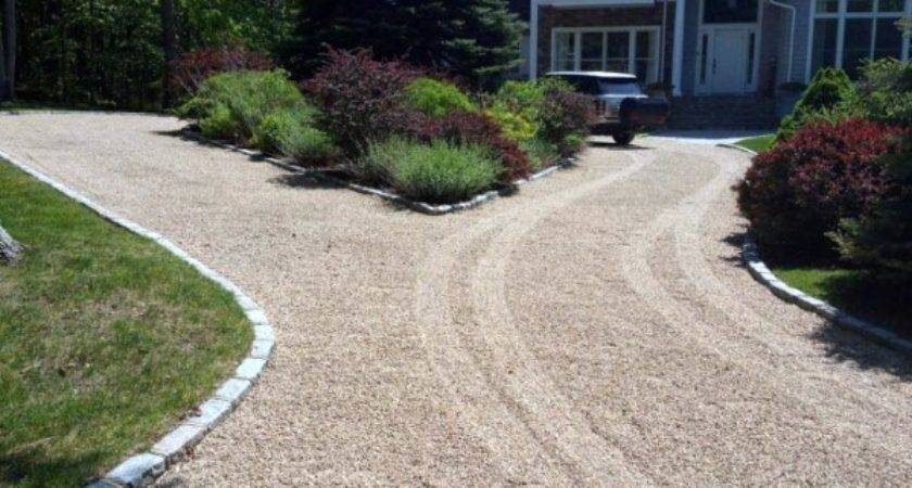 Top Best Gravel Driveway Ideas Curb Appeal Designs