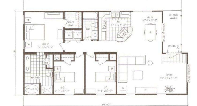 Topsail Beach Modular Home Plan