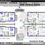 Townhouse Real Estate Design Duplex House Floor Plan Sale