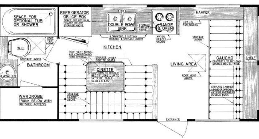 Travel Trailer Floor Plans Home