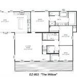 Triple Wide Floorplans