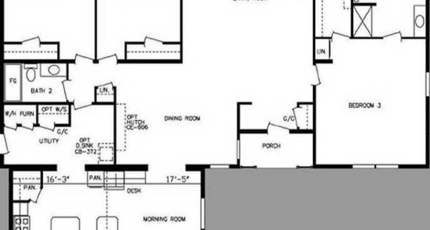 Triple Wide Mobile Home Floor Plans Double