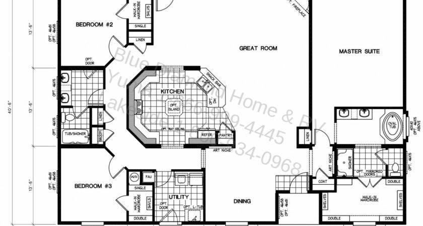 Triplewide Floor Plans House