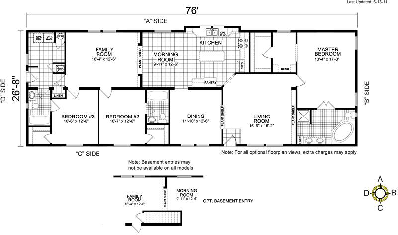 Tuesday April Manufactured Home Mobile Floor Plans