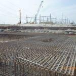 Turbine Hall Steel Reinforcement Raft Foundation Top Layer