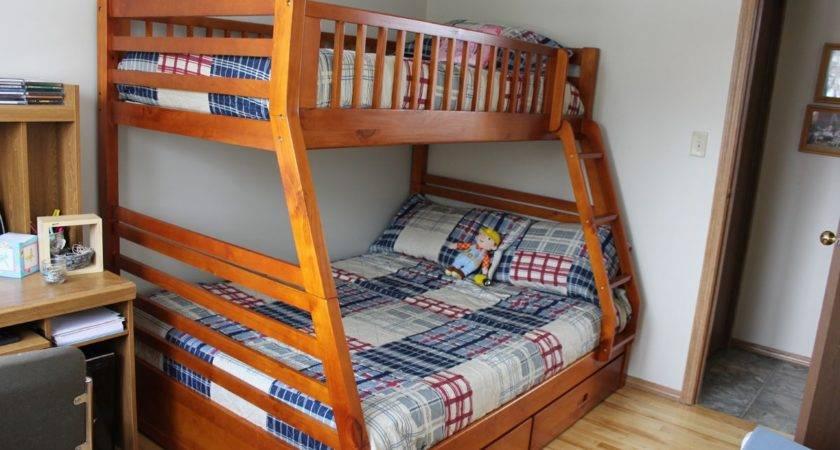 Twin Over Queen Bunk Bed Plans Diy Blueprints