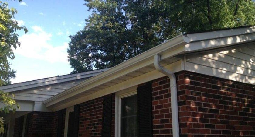 Types Gutters Downspouts Available Your Mobile Home