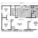 Unique Mobile Homes Plans Double Wide Home Floor