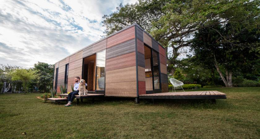 Vimob Looks Like Shipping Container But Modular