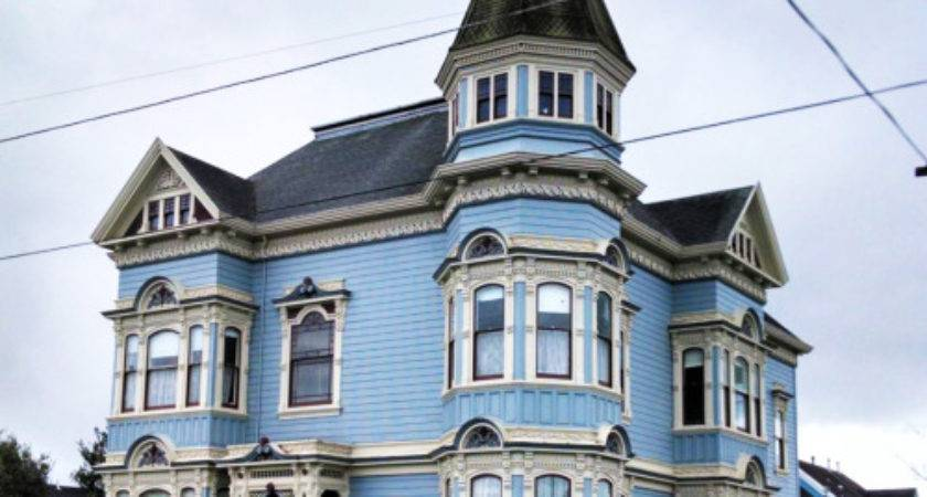 Vintage Bay Area Homes Beautiful Old Victorian Mansion