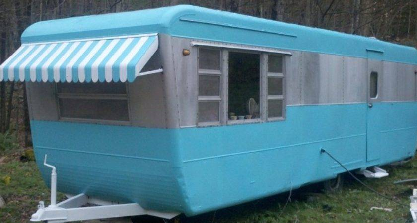 Vintage Pacemaker Travel Trailer Mobile Home