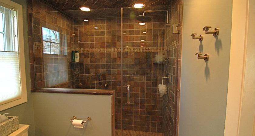 Walk Shower Ideas Lavish Tiny Bathroom Designing City
