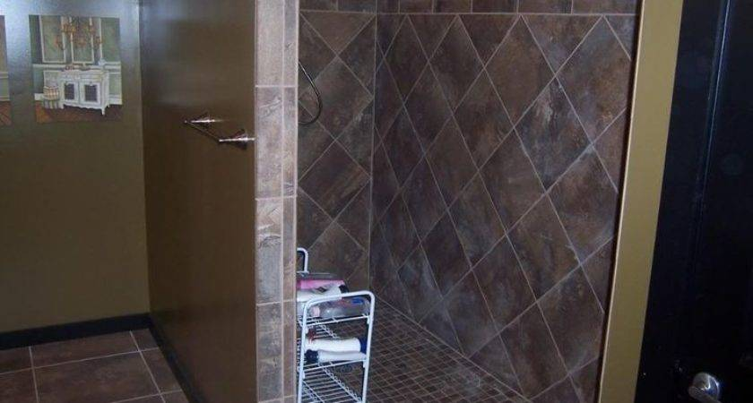 Walk Showers Without Doors Call Car Wash
