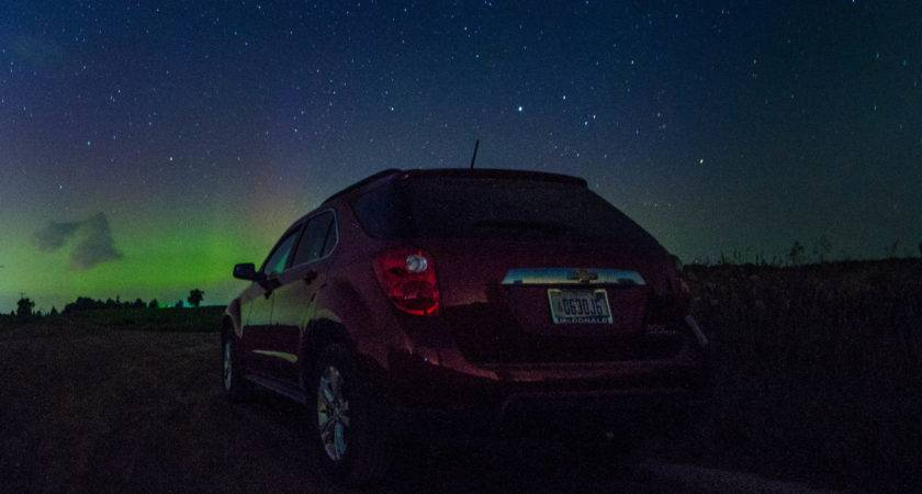 Watching Northern Lights Michigan Reader Submission