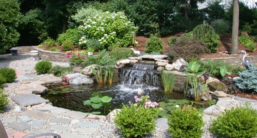 Water Features Google Search Ponds Flower Rocks Gardens Idea