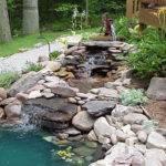 Water Fountain Backyard Feature Garden