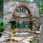 Water Fountain Landscape Ideas Backyard Design