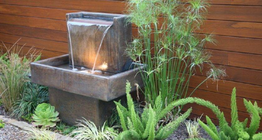 Water Fountains Archives Ideas Garden Backyard Space Around