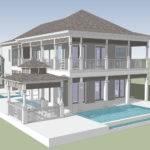 West Indies Cottage Nassau Bahamas Energy Smart Home Plans