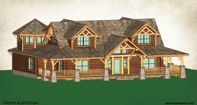 Wholesale Log Homes Sequoia Home Naturecraft