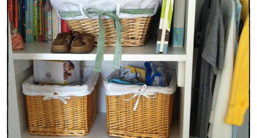 Wicker Baskets Closets
